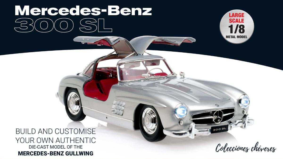Mercedes Benz 300 SL escala 1:8 La Nación