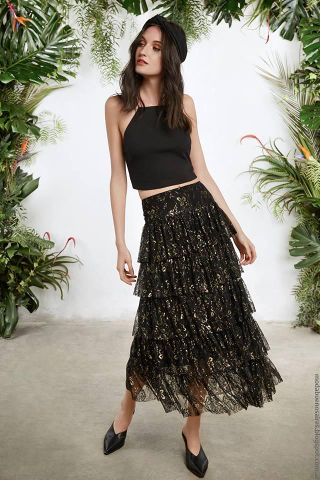 Moda mujer primavera verano 2017 María Cher moda 2017.