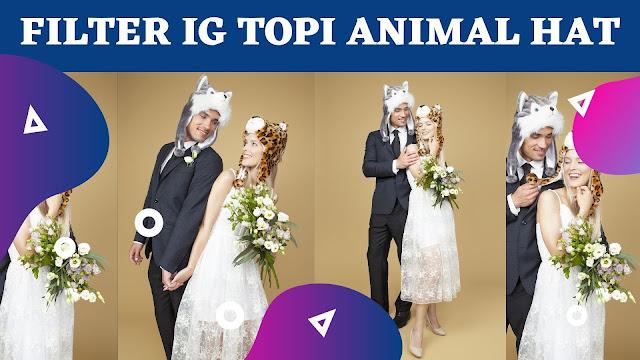 Viral, Nama Filter IG Topi Animal Hat Terbaru