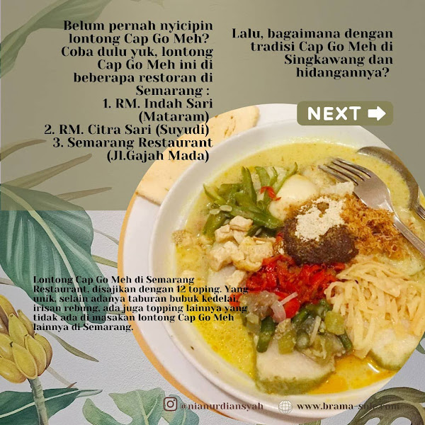 Dimana Bisa Makan Cap Go Meh Di Semarang