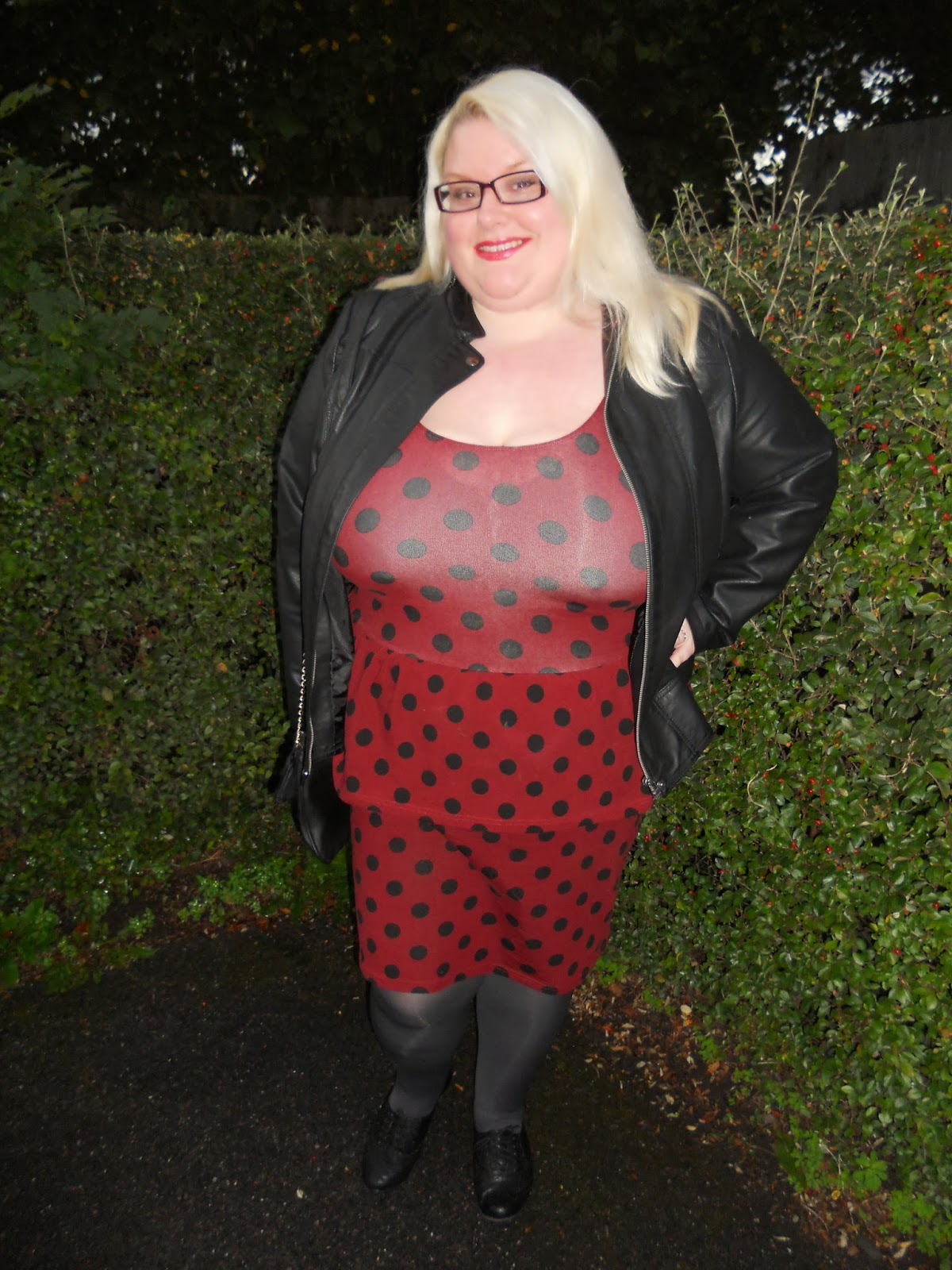 6317a10ad0c OOTD- Another polka dot obsession - Mookie s Life