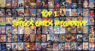 los juegos más caros y cotizados para la sega megadrive