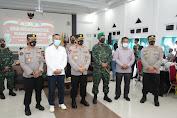 Kapolda NTT Hadiri Serbuan Vaksinasi dan Bakti Sosial Nusantara AKABRI 98 Nawahasta Bersama Kampus Universitas Muhammadiyah Kupang