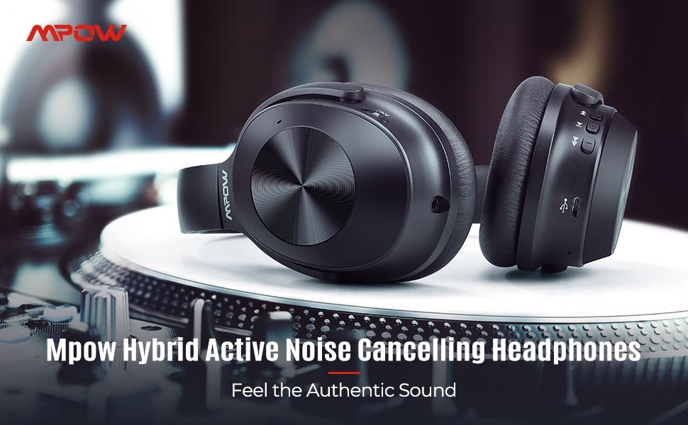 Mpow Noise Cancelling Headphones