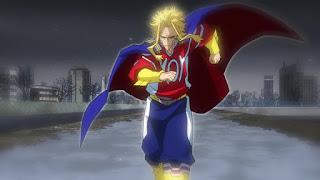 ヒロアカ アニメ5期17話   オールマイト   僕のヒーローアカデミア My Hero Academia EPISODE 105