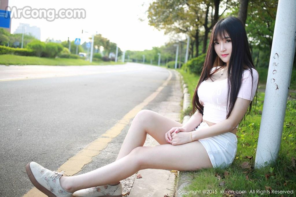 MrCong.com XIUREN No.345 Xia Yao baby 020 - XIUREN No.345: Model Xia Yao baby (夏 瑶 baby) (43 pictures)