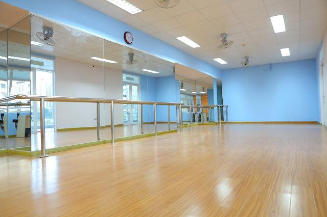 Phòng học múa  - Trường nhạc SMS quận 2 - Cơ sở 3