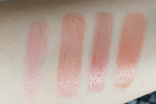 fenty slipshine retro rose swatch