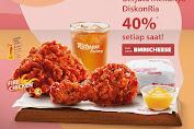 Richeese Factory Promo Grabfood BERJUTA MENU dengan diskon 40% Periode 16-29 Maret 2020