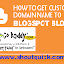 How to add godaddy domain name to BlogSpot (blogger) hosting