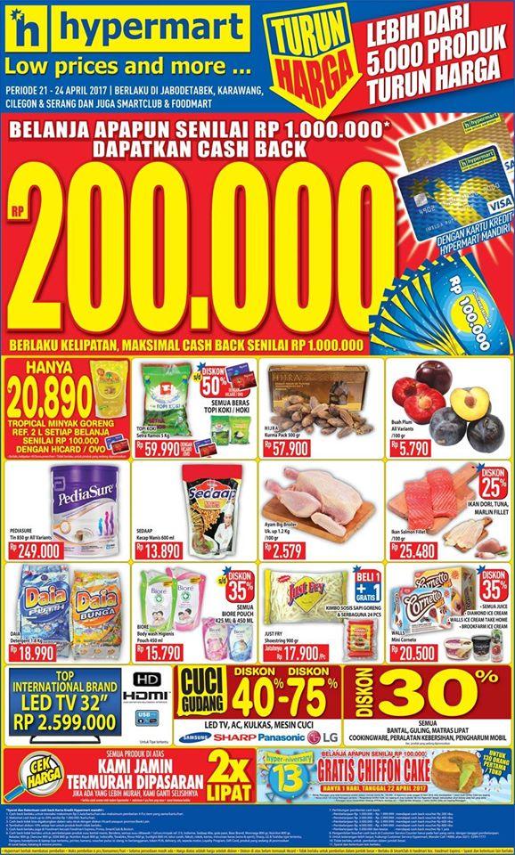 Katalog Promo JSM Hypermart Weekend 7-9 September 2018