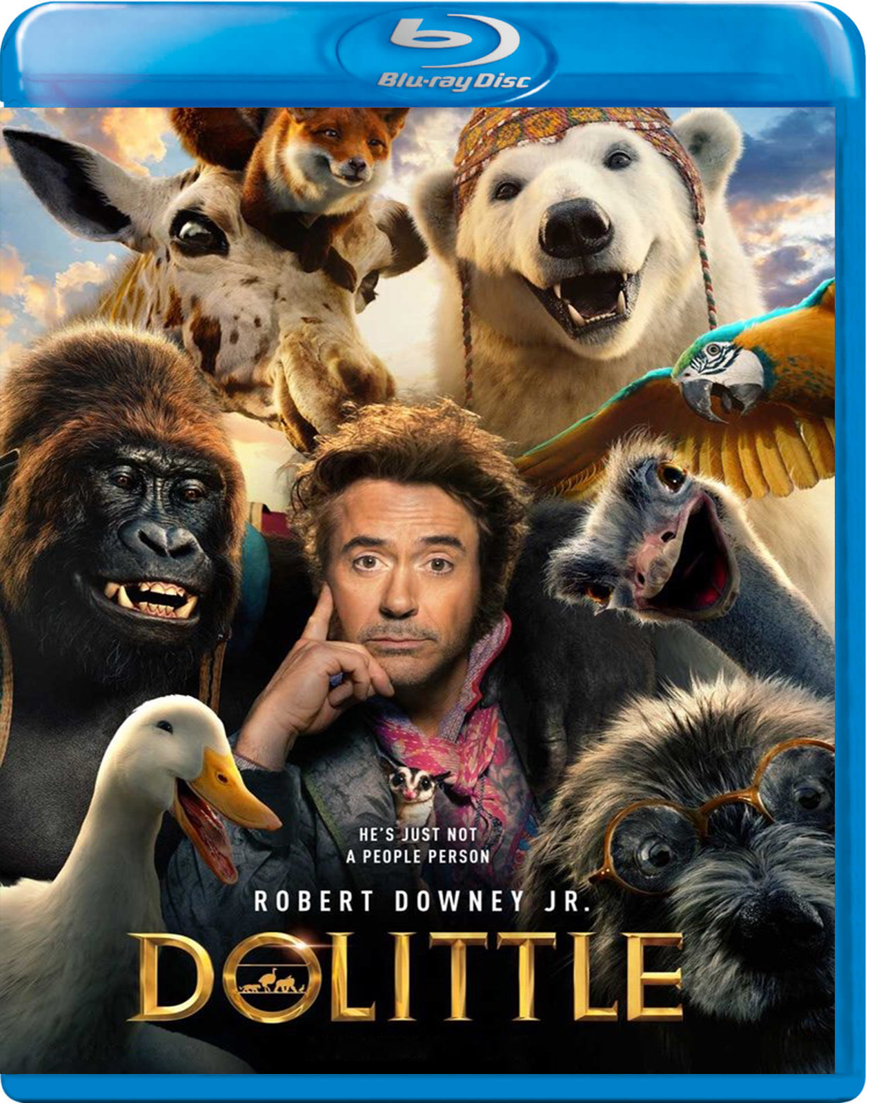 Dolittle [2019] [BD50] [Latino]