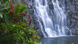 Nature waterfall high resolution wallpapers