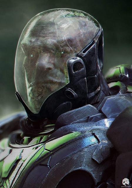 Dos concept art del villano de X-Men: Apocalypse