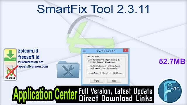 SmartFix Tool 2.3.11