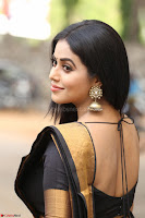 Poorna in Cute Backless Choli Saree Stunning Beauty at Avantika Movie platinum Disc Function ~  Exclusive 021.JPG