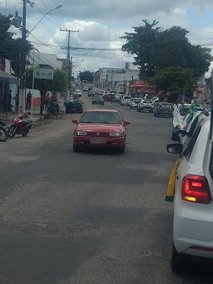 Apoiadores de Bolsonaro realizam mais uma carreata em Alagoinhas
