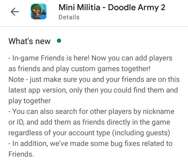 mini militia new update 5.3.4