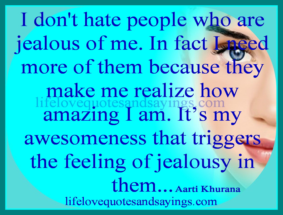In Quotes About Haters Jealous. QuotesGram