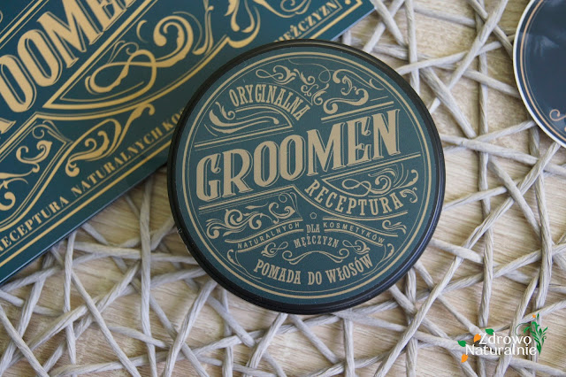 Groomen - Pomada wodna do stylizacji fryzury dla mężczyzn