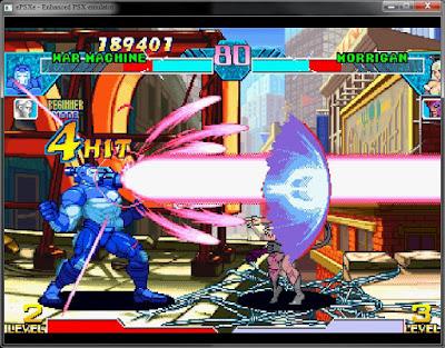 Marvel Vs Capcom PS1 ISO