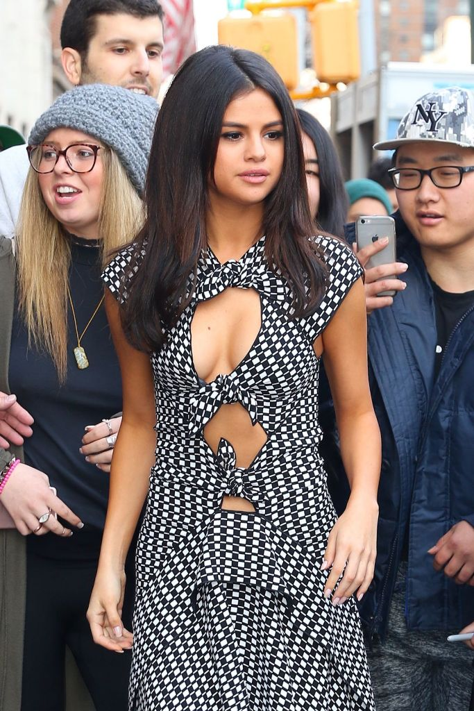 Selena Gomez – Arriving at Her Hotel in Soho, NYC
