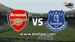 بث مباشر مباراة ارسنال و ايفرتون مباشر في الدوري الإنجليزي الممتاز