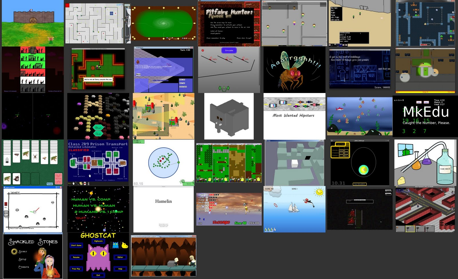 Free Gamer - Open Source Games (Free/Libre): PyWeek 12 is