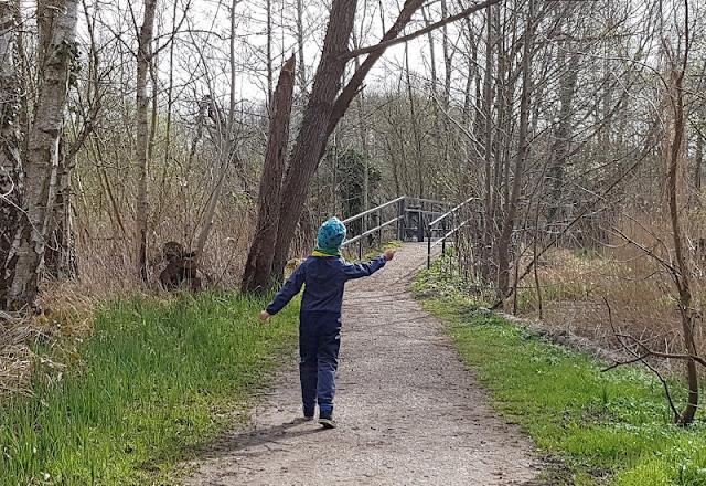 Küsten-Spaziergänge rund um Kiel, Teil 4: Entlang am Ufer der Schwentine. Viele kleine Brücken am Ufer machen die Strecke spannend.
