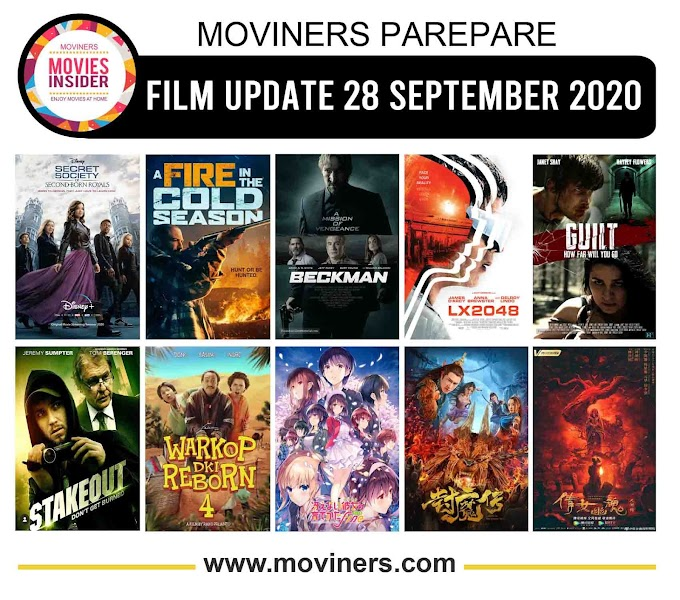 FILM UPDATE 28 SEPTEMBER 2020