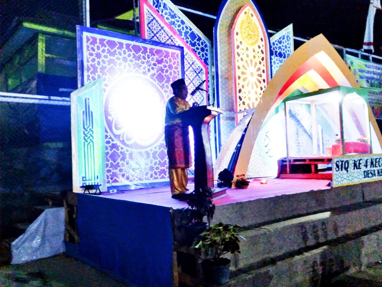 Tutup STQ Ke IV, Camat Lingga Timur Apresiasi Seluruh Desa Ikut Berpartisipasi Sukseskan Ivent Tersebut