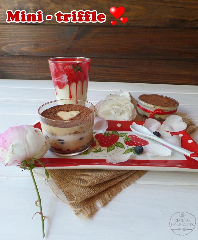 Mini - Triffle especial San Valentín