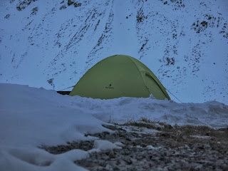 Meine Unterkunft neben der Hütte