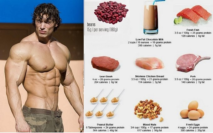 Top 6 Foods and Benefits Muscle Building