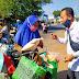 H Sudewo ST MT Bagikan 500 Paket Sembako ke Warga Yang Terdampak Pandemi Covid-19
