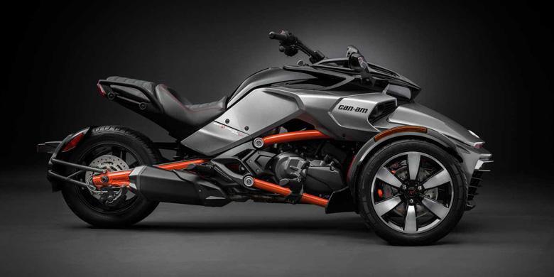 Spyder, Motor Keren dengan Desain Mirip Laba-laba