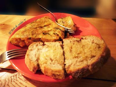 famosas tortillas de patata en café do Bico