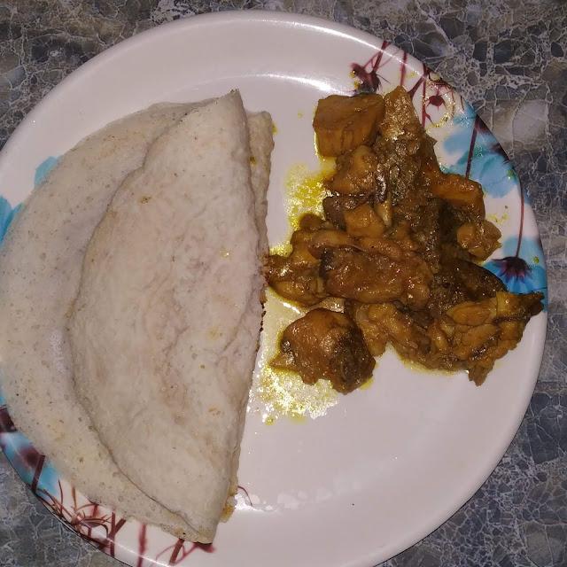 Chakuli and Chicken