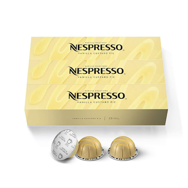 Nespresso VertuoLine Vanilla Custard Pie