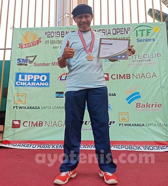 Duel Dua Peraih Medali Emas Asian Games Tersaji di Final Kejuaraan Tenis Internasional Baveti Indonesia Open