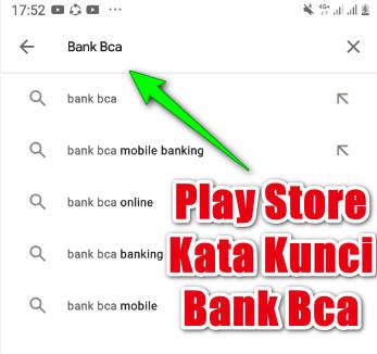 Cara Cari Aplikasi Bank Bca Di Play Store