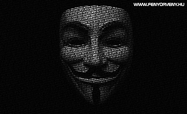 Hadat üzent a bankoknak az Anonymous