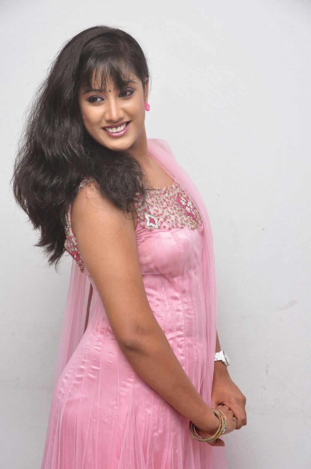 Anushka Sharma Cute Smile Wallpapers Sravani Photoshoot At Jananam Audio Launch Actress