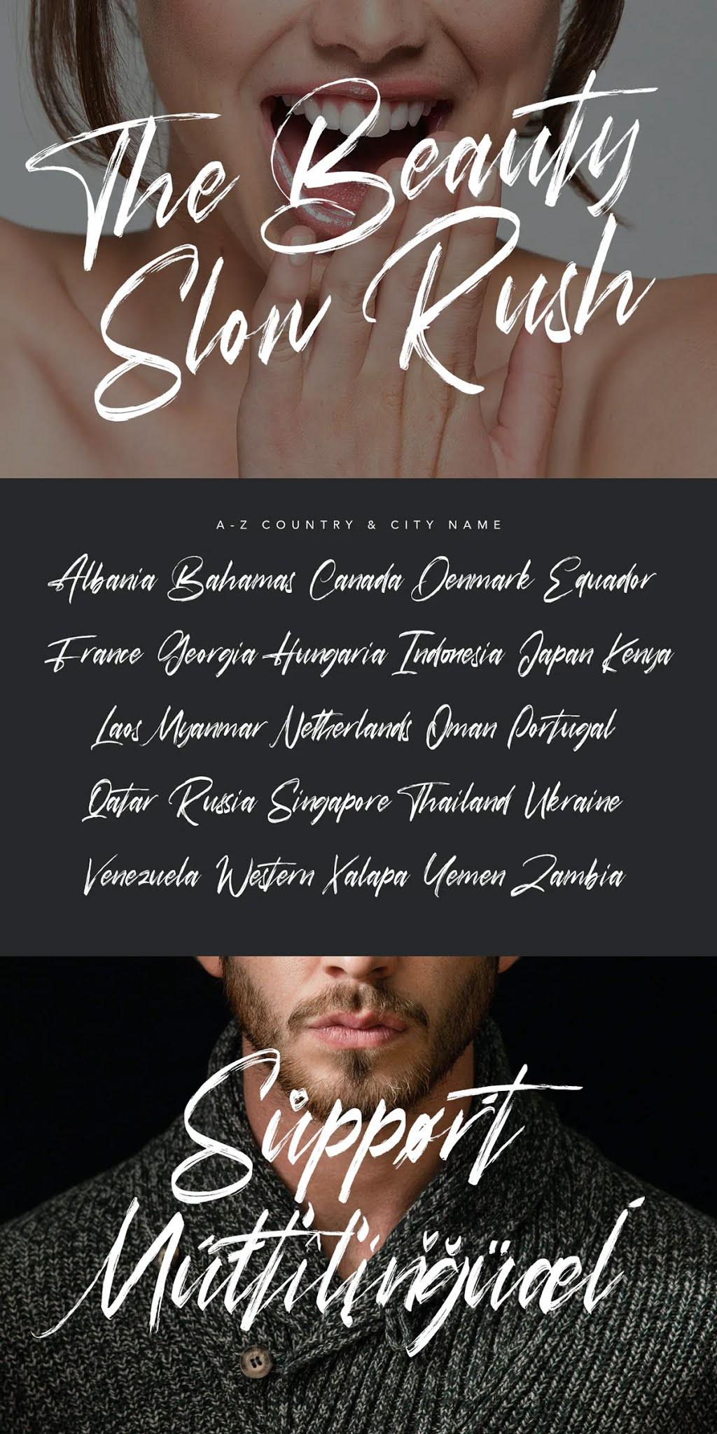 Hasta Brush Script Font Free Download