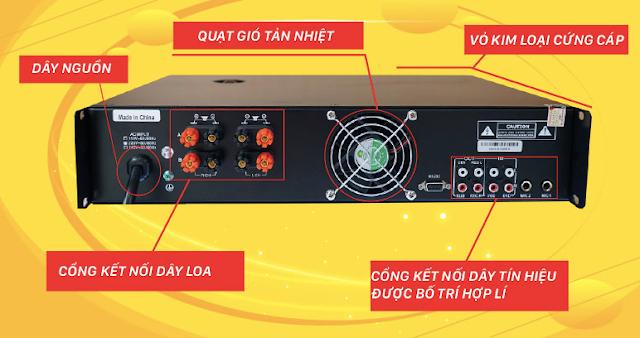 Amply karaoke số HAS MC 2300S