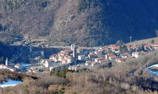 The village of Garessio sits in a valley in the Ligurian Alps, close to the Langhe wine region