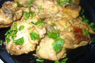 курица жареная готовая