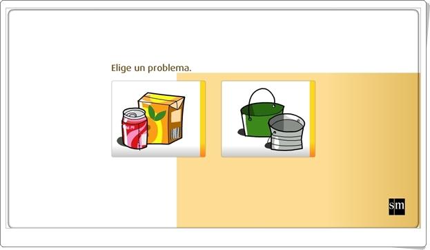 Resuelve PROBLEMAS con medidas de CAPACIDAD (Actividad interactiva de Matemáticas de Primaria)