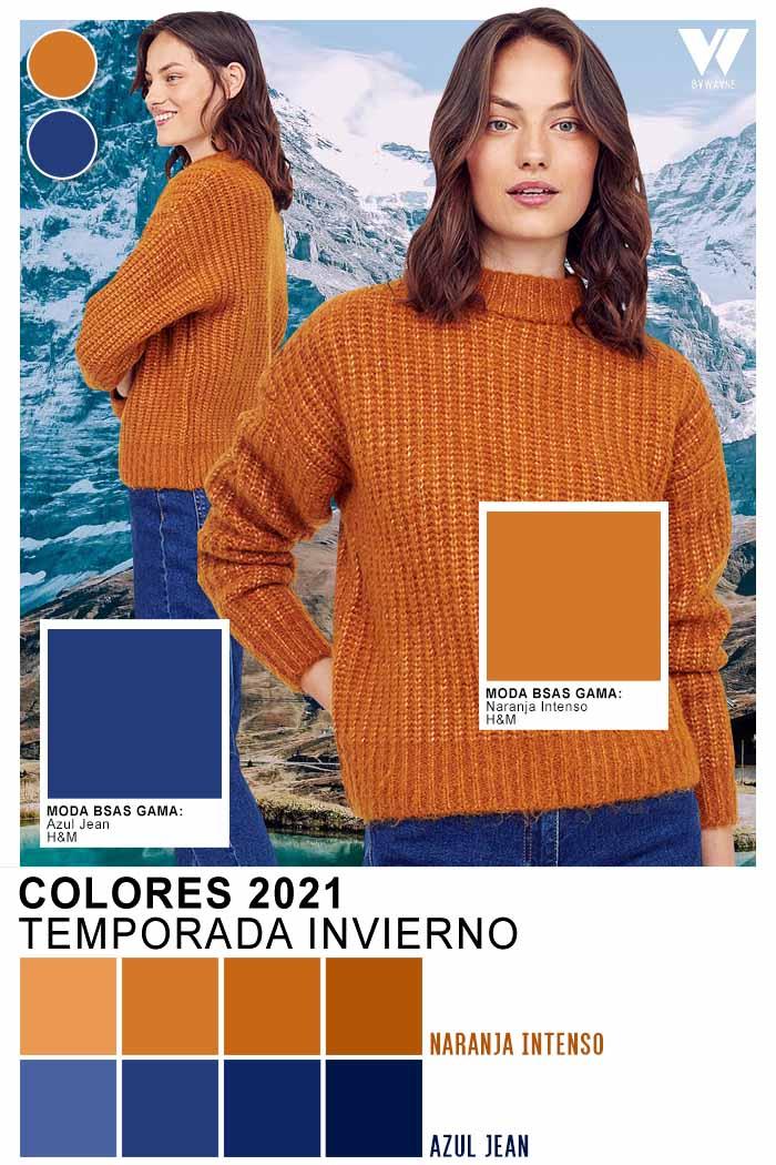 ropa de moda 2021 mujer colores de moda invierno 2021