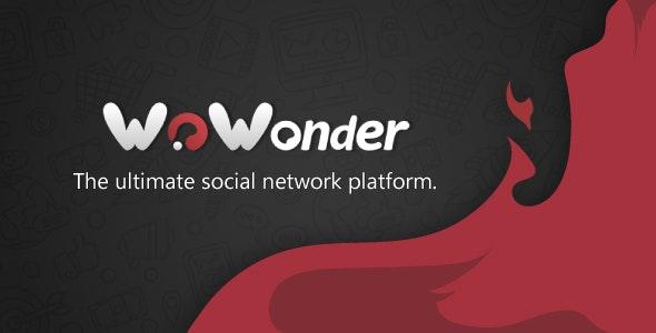 WoWonder v3.2 -  A melhor plataforma de rede social em PHP Download Grátis